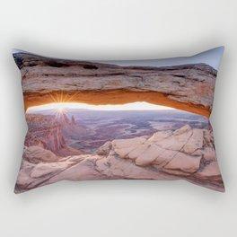 Mesa Arch Rectangular Pillow