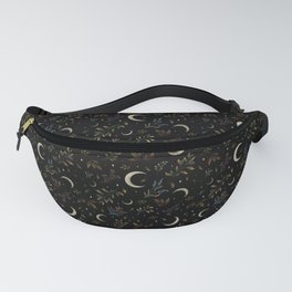 Crescent Moon Garden Fanny Pack