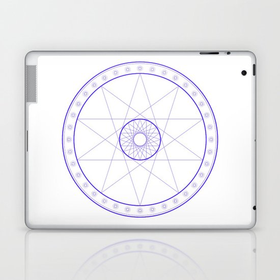 Anime Magic Circle 10 Laptop & iPad Skin