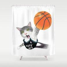 Shoot ! Shower Curtain