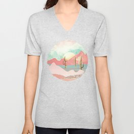 Desert Mountains Unisex V-Neck