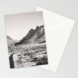 The Lost Highway III Black & White Stationery Cards