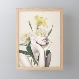 Bloom 4 Framed Mini Art Print