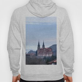 Basilica of Covadonga in the mountains, Spain Hoody