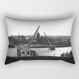Bridge Over Troubled Water Rectangular Pillow