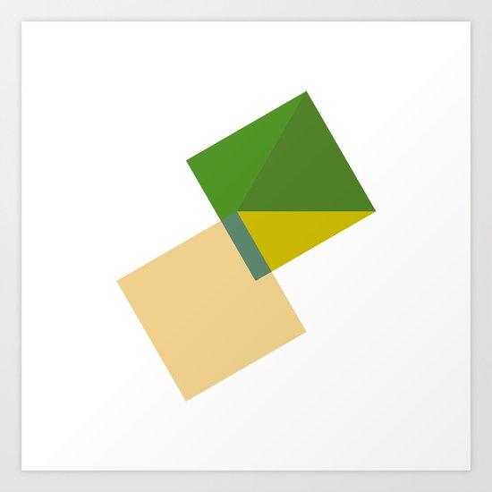 #389 Tomorrow – Geometry Daily Art Print
