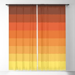 Retro Tlahuelpuchi Blackout Curtain