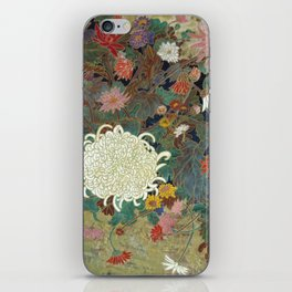 flower【Japanese painting】 iPhone Skin