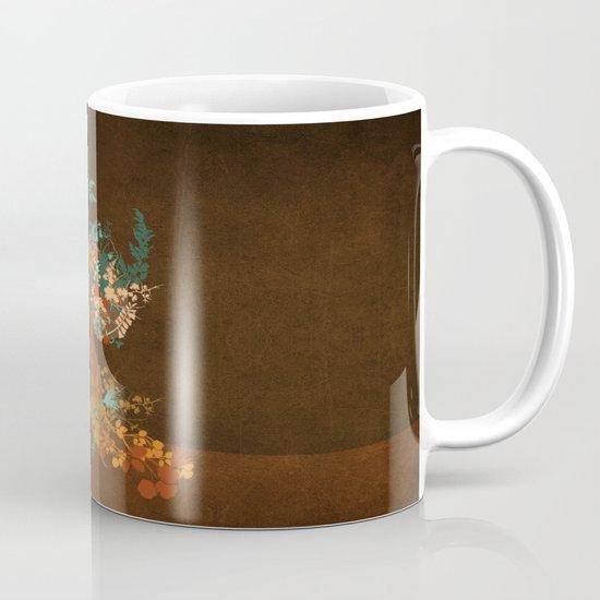 Mujer floral Mug