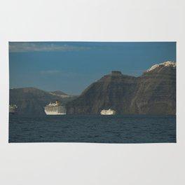Santorini, Greece 5 Rug