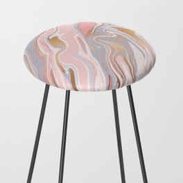 Marble and Gold 005 Counter Stool