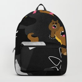 Cerberus loves candies! Backpack