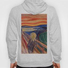 The Scream Edvard Munch Classic Art Best Quality Hoody