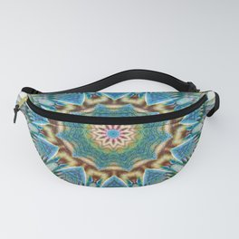 Curious and excited - Colorful mandala Fanny Pack