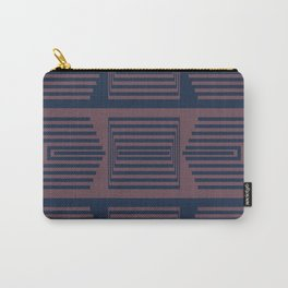 Bicolor Geometric I Carry-All Pouch