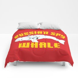 Russian Spy Whale Comforters