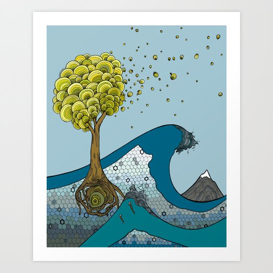 Forces of Nature Art Print