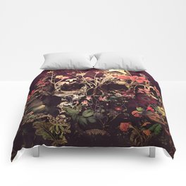 Bloom Skull Comforters