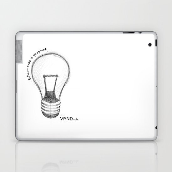 The Lord works in mysterious ways Laptop & iPad Skin