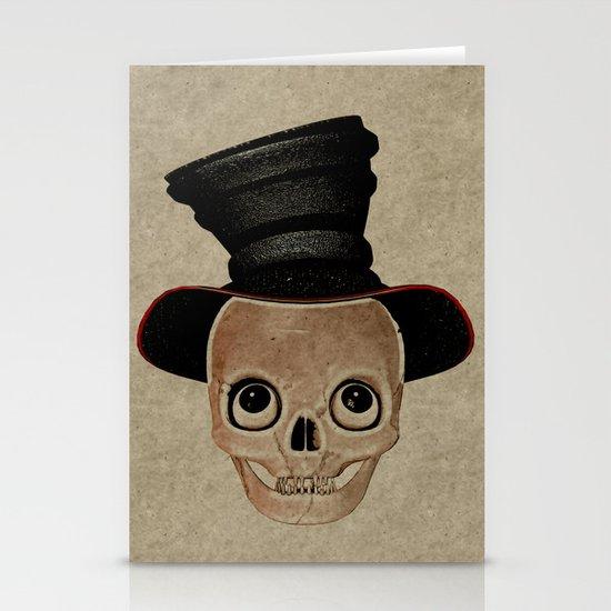 Mad Skull Hatter Stationery Cards