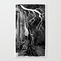 prometheus Canvas Prints featuring Prometheus by Mr.Willow