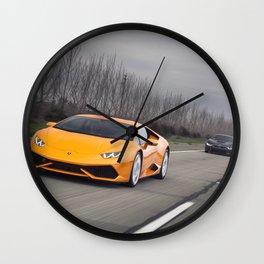 Huracan & i8 Wall Clock