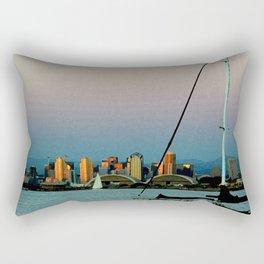 DOWNTOWN DUSK Rectangular Pillow