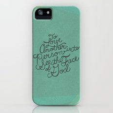 To Love Another... Slim Case iPhone (5, 5s)