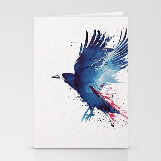 Bloody Crow Stationery Cards