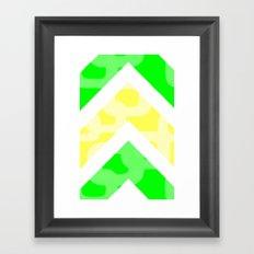 Summer color Framed Art Print