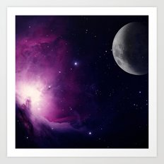 OuterSpace  Art Print