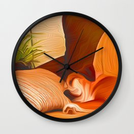 Lucy Sleeping West Wall Clock