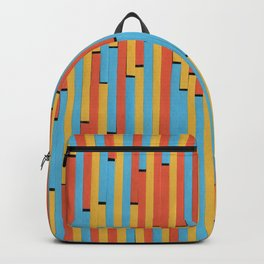 Paper Stripes - Color variation 1 Backpack