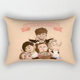 Happy OT5 Easter Rectangular Pillow