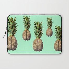 Pinebrain (pineapple) Laptop Sleeve
