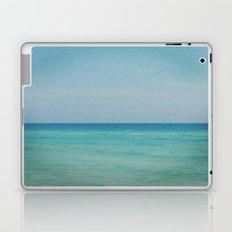 All blue Laptop & iPad Skin