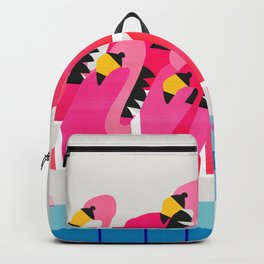 Flamingo Flamboyance Backpack