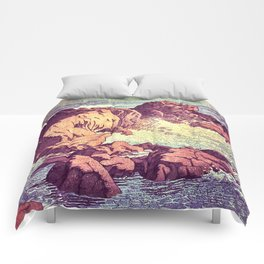 Stopping by the Shore at Uke Comforters