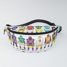 Football Butts Fanny Pack