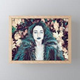 Empress Vampire Framed Mini Art Print