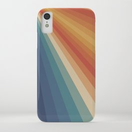 Retro 70s Sunrays iPhone Case