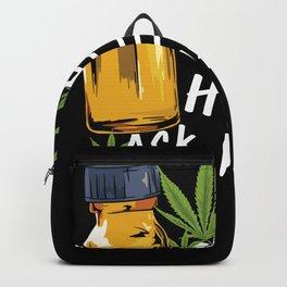 CBD OIL: Hemp Heals Cannabis Plant Oil Extract Backpack