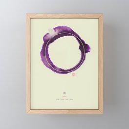 Circle n°3 Framed Mini Art Print