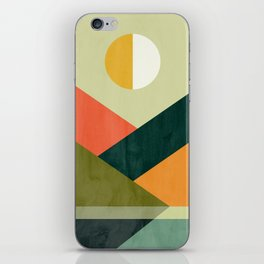 Hidden shore iPhone Skin