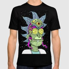 Monster Rick Mens Fitted Tee LARGE Black