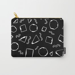 Wiggly - Black Carry-All Pouch