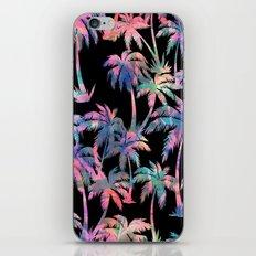 Maui Palm {Black} iPhone & iPod Skin