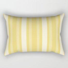 Buff Victorian Lady Stripe Rectangular Pillow
