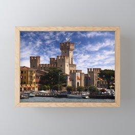 Scaliger Castle Framed Mini Art Print