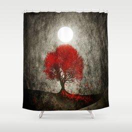 Red autumn. Shower Curtain